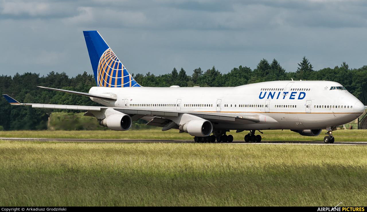 United Airlines N181UA aircraft at Szczecin - Goleniów