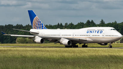 N181UA - United Airlines Boeing 747-400