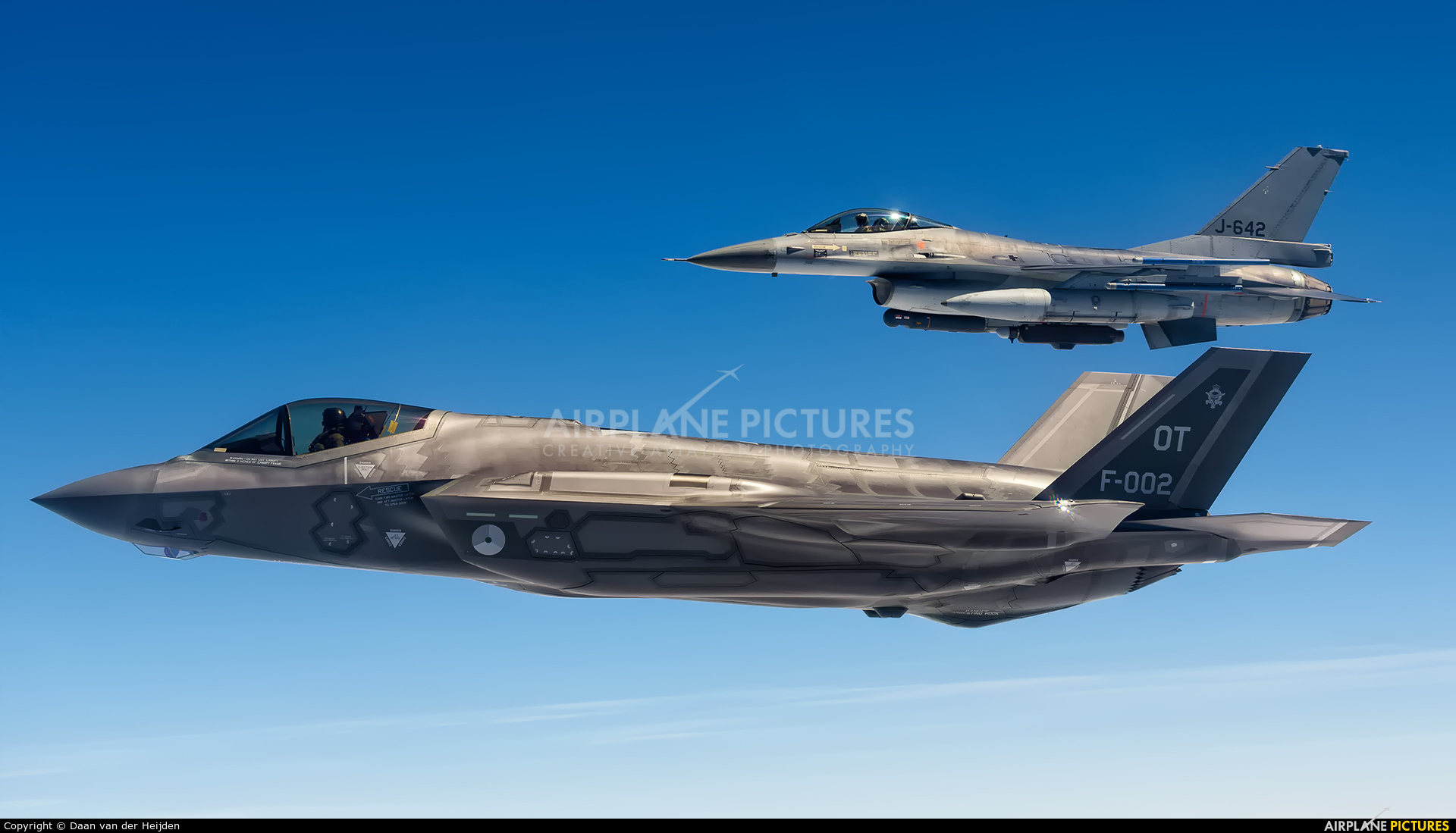 Netherlands - Air Force F-002 aircraft at In Flight - Netherlands