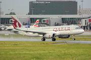 A7-AHQ - Qatar Airways Airbus A320 aircraft