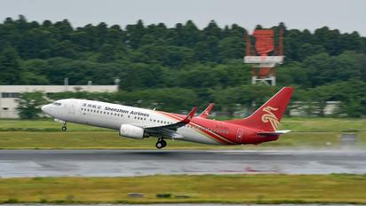 B-5322 - Shenzhen Airlines Boeing 737-800