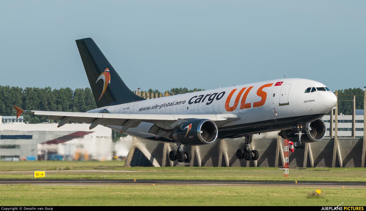 ULS Cargo TC-VEL aircraft at Amsterdam - Schiphol