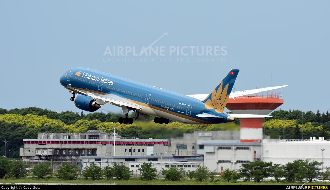 Vietnam Airlines VN-A866 aircraft at Tokyo - Narita Intl