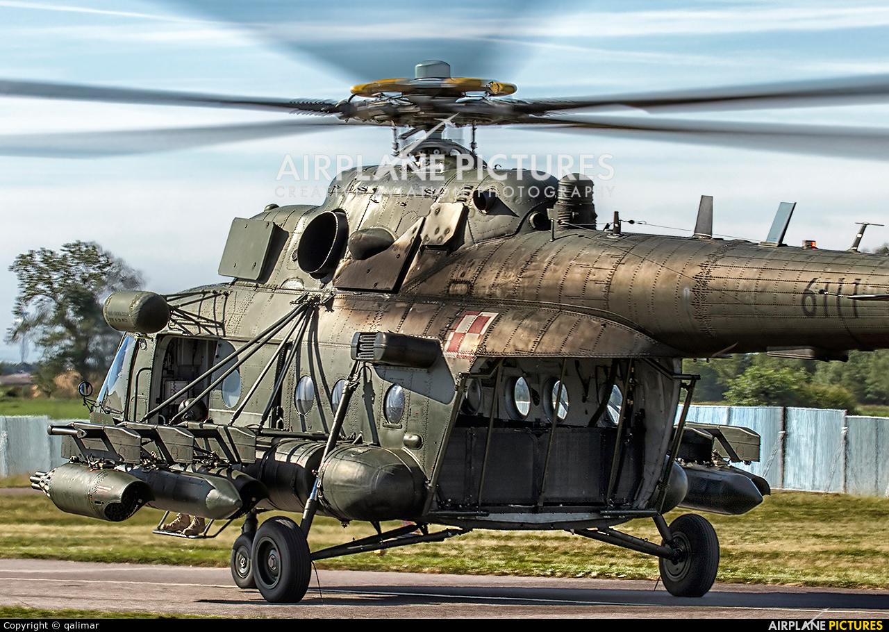 Poland - Army 6111 aircraft at Darłowo
