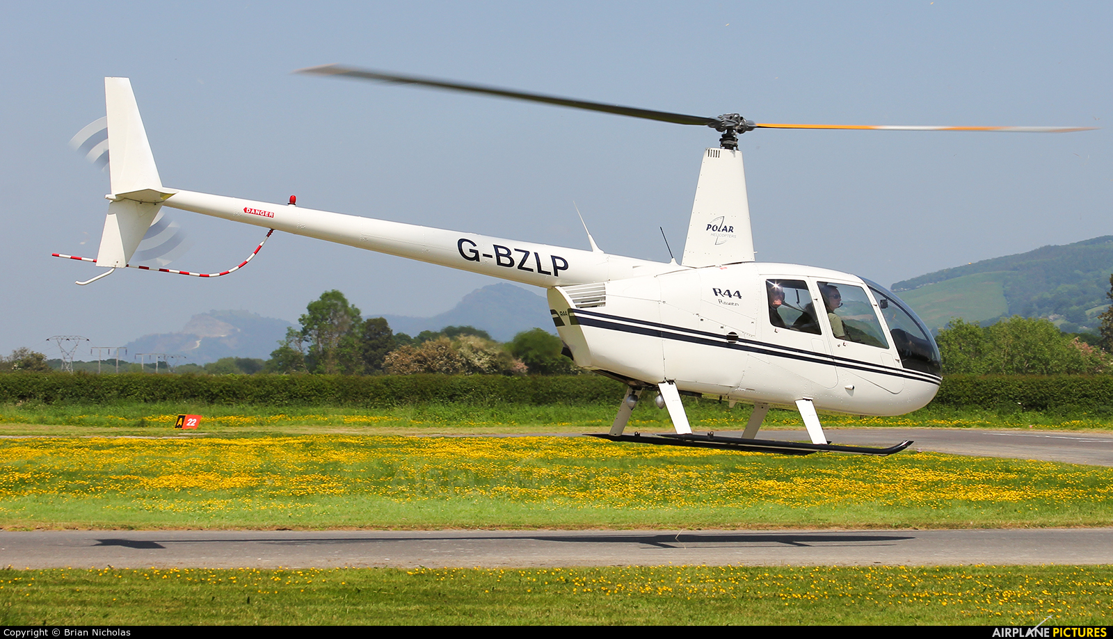 Private G-BZLP aircraft at Welshpool