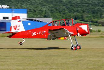 OK-YJF - Private LET Z-37 Čmelák