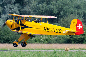 HB-UUO - Private Bücker Bü.131 Jungmann