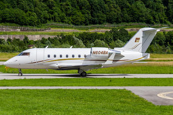 N604BA - Private Bombardier CL-600-2B16 Challenger 604