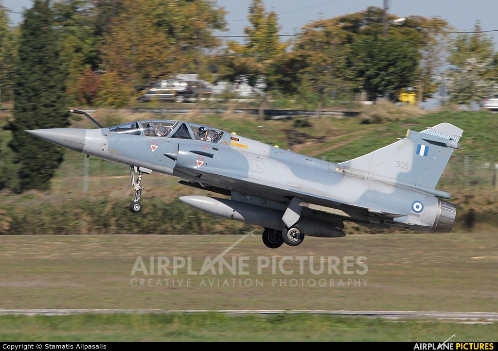 Greece - Hellenic Air Force 505 aircraft at Tanagra