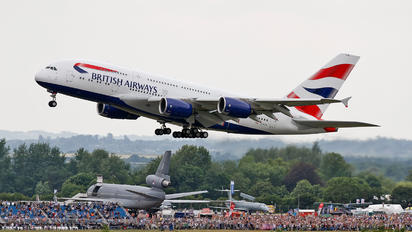 G-XLEA - British Airways Airbus A380