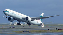 B-KQB - Cathay Pacific Boeing 777-300ER aircraft