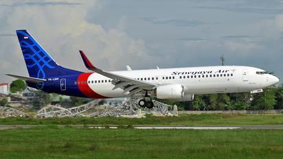 PK-CMR - Sriwajaya Air Boeing 737-800