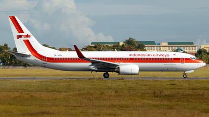 PK-GFN - Garuda Indonesia Boeing 737-800