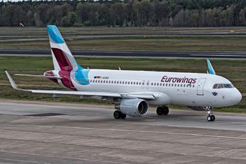 D-AEWB - Eurowings Airbus A320
