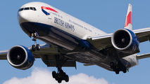 G-STBD - British Airways Boeing 777-300ER aircraft
