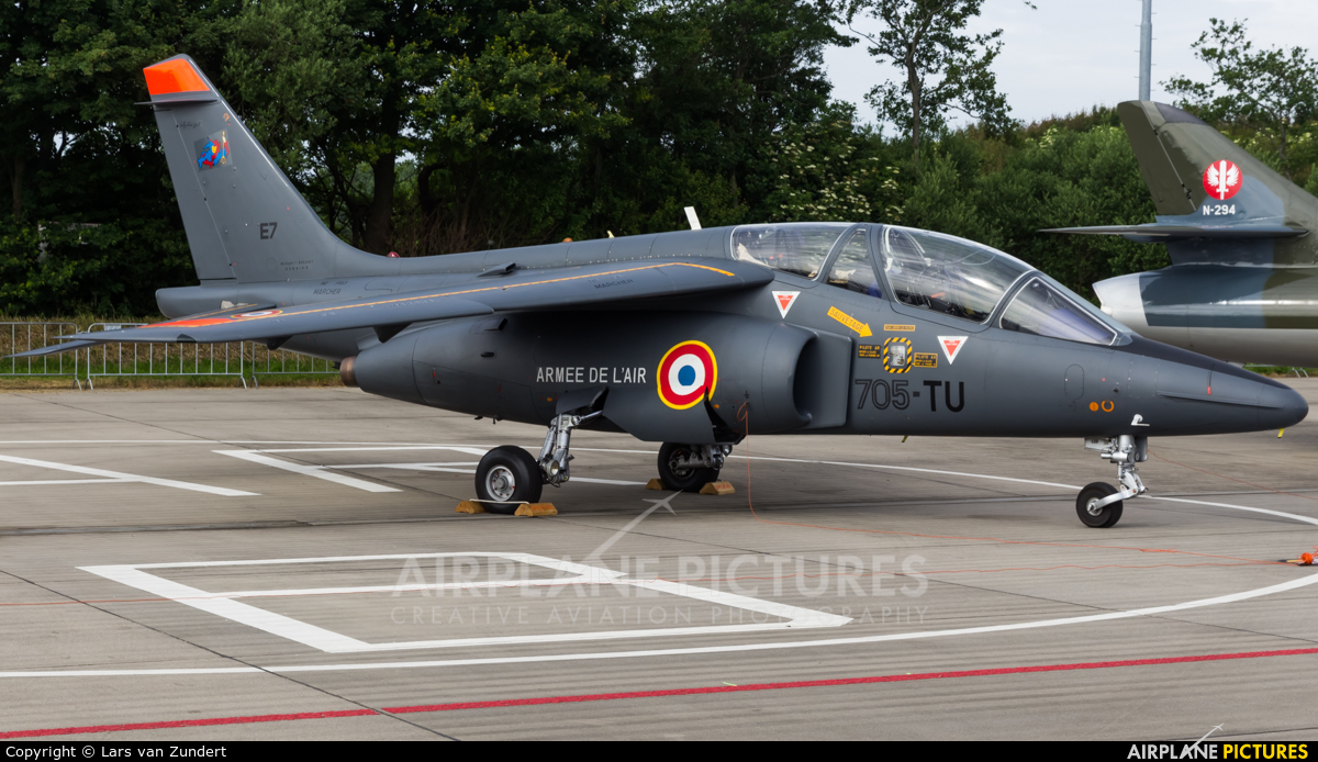 France - Air Force E7 aircraft at Leeuwarden