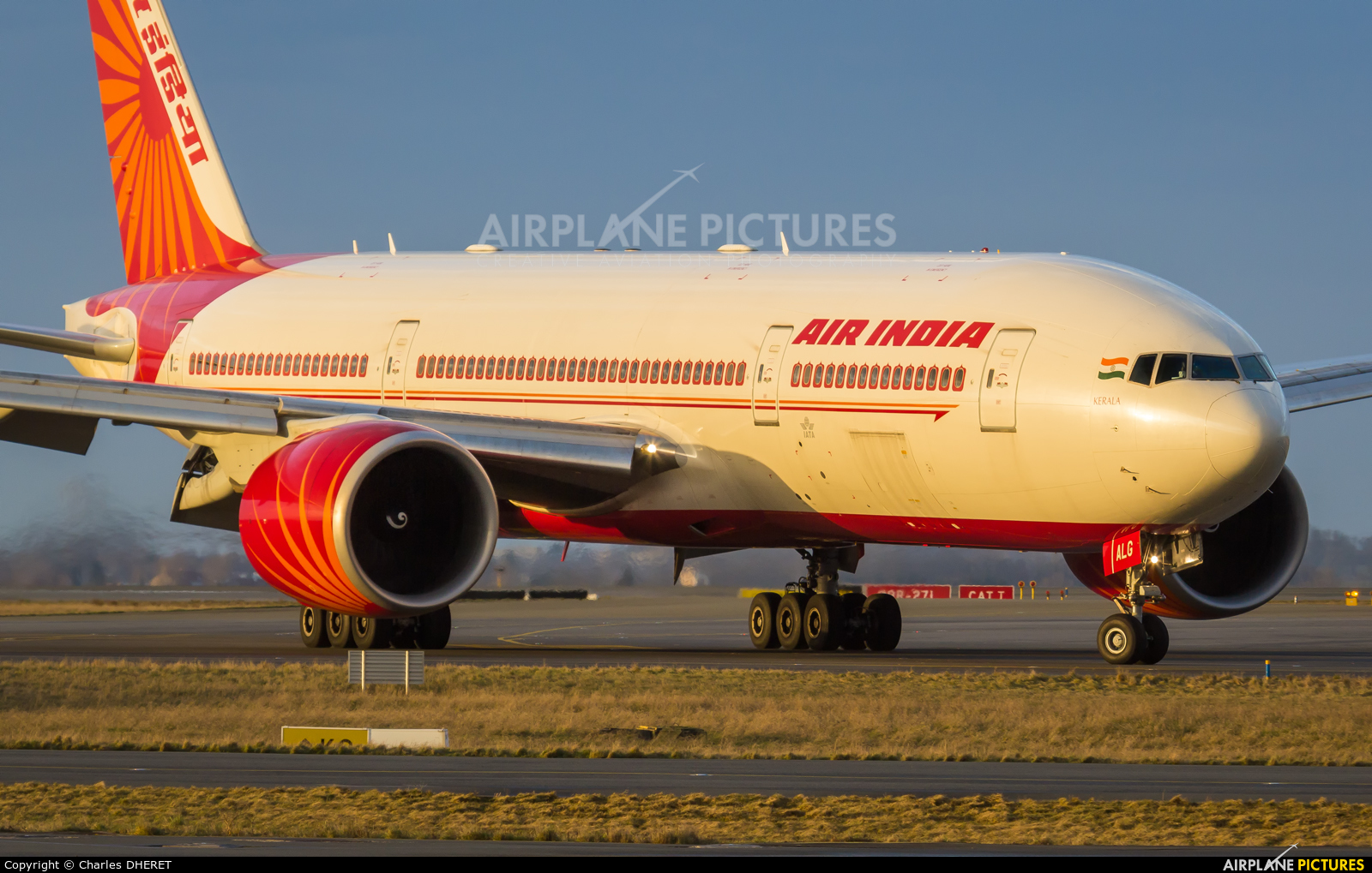 Air India VT-ALG aircraft at Paris - Charles de Gaulle