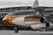 M-IABU - Global Jet Luxembourg Airbus A340-300 aircraft