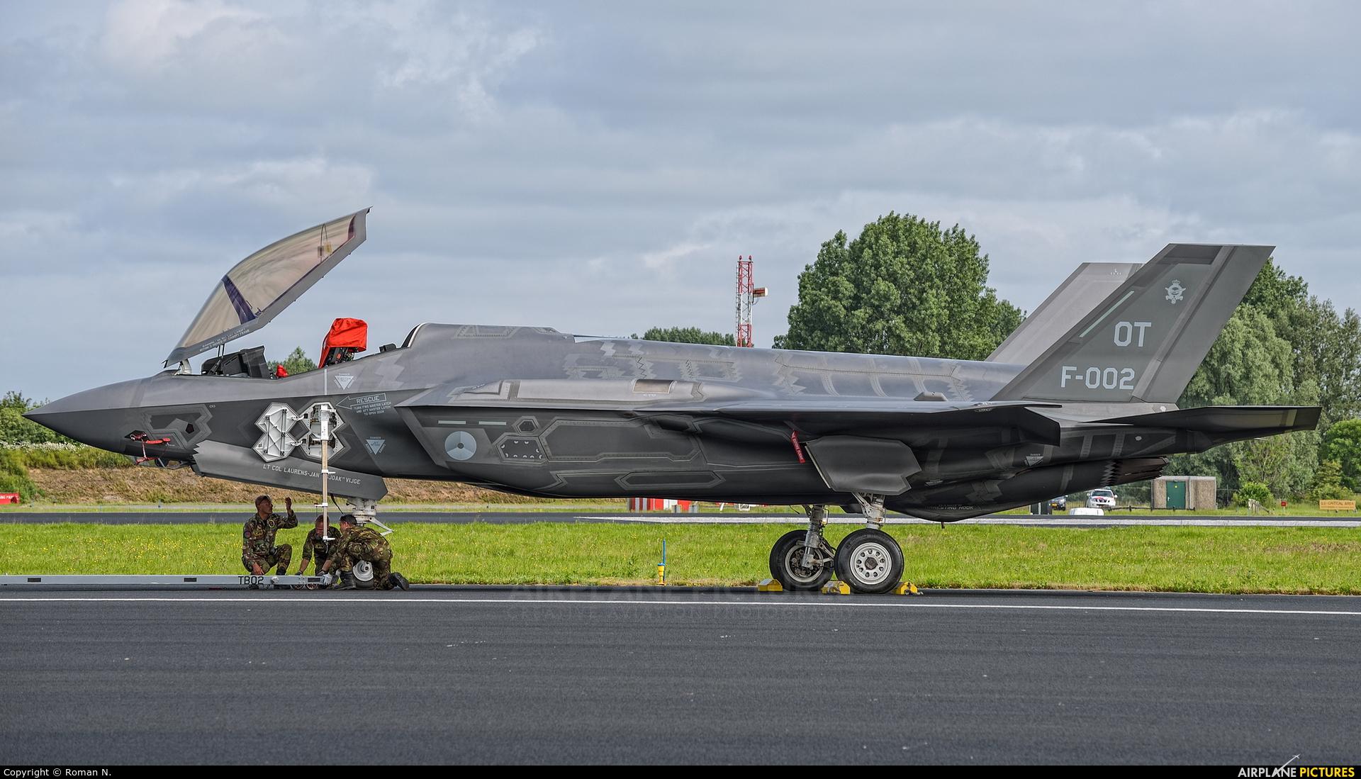 Netherlands - Air Force F-002 aircraft at Leeuwarden