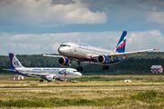 VP-BRX - Aeroflot Airbus A320 aircraft