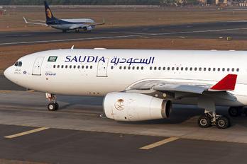TC-OCJ - Saudi Arabian Airlines Airbus A330-200