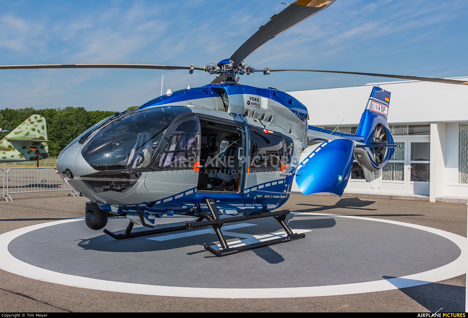 Elicottero H145 : D hadp germany police airbus helicopters h at
