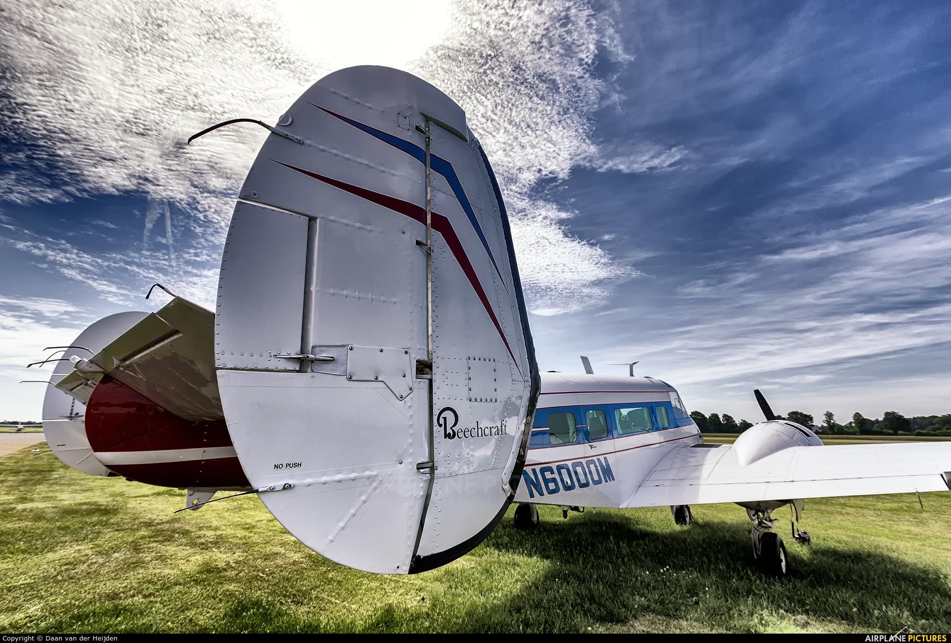 Private N6000M aircraft at Stadlohn - Vreden