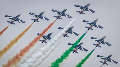 """- - Italy - Air Force """"Frecce Tricolori"""" Aermacchi MB-339A"""