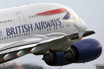 G-XLEE - British Airways Airbus A380