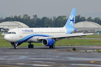 XA-VFI - Interjet Airbus A320