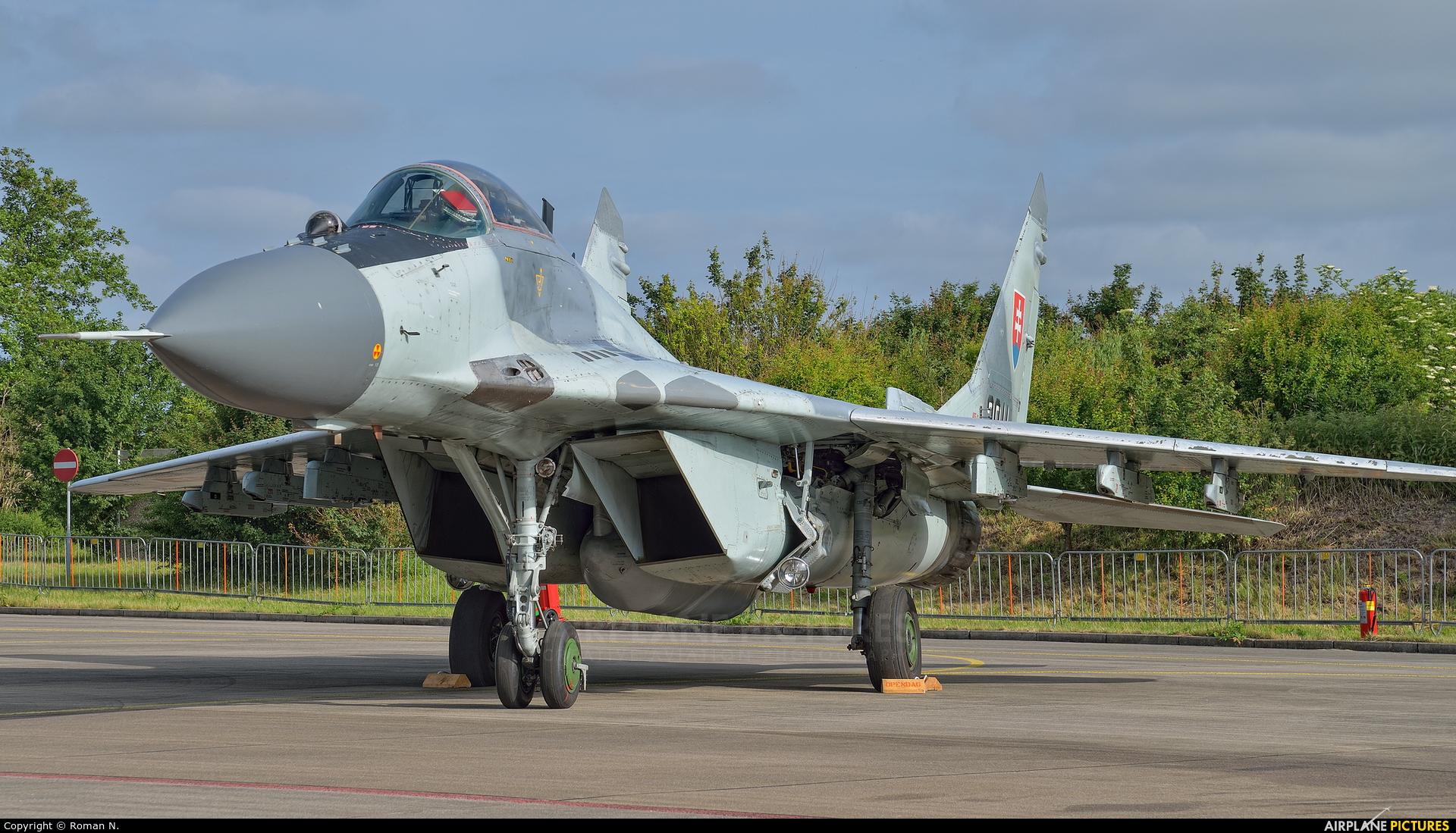 Slovakia -  Air Force 3911 aircraft at Leeuwarden