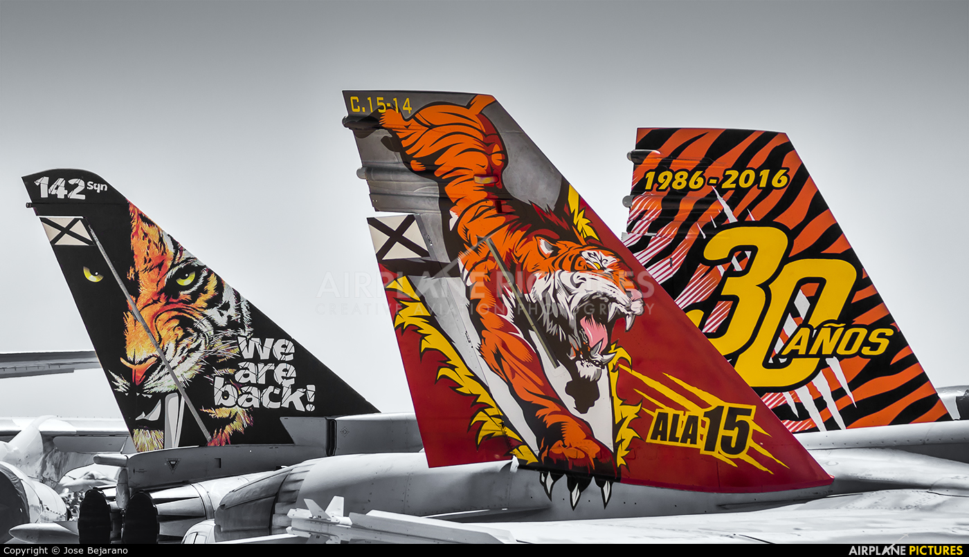 Spain - Air Force C.15-14 aircraft at Zaragoza