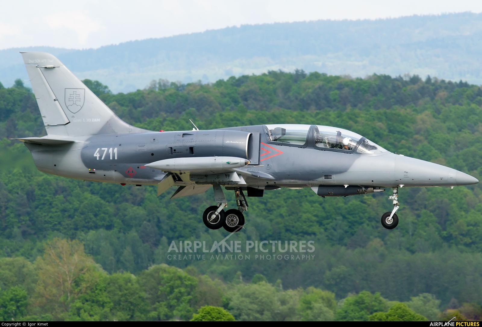 Slovakia -  Air Force 4711 aircraft at Sliač