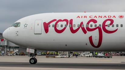 C-FJZK - Air Canada Rouge Boeing 767-300ER
