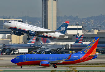 N751UW - US Airways Airbus A319