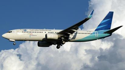 PK-GMG - Garuda Indonesia Boeing 737-800