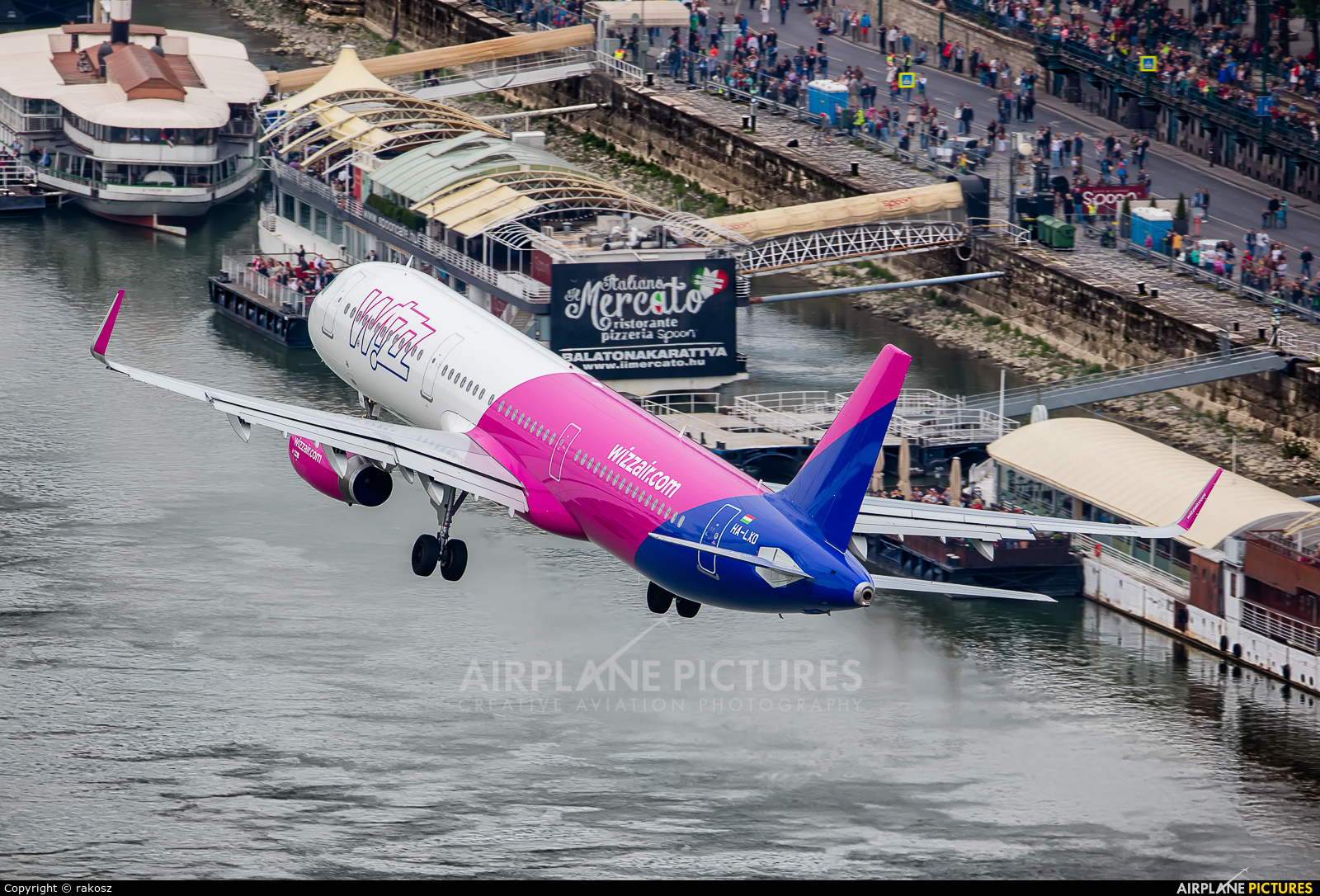 Wizz Air HA-LXD aircraft at Off Airport - Hungary