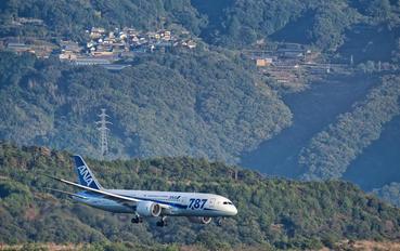 JA819A - ANA - All Nippon Airways Boeing 787-8 Dreamliner