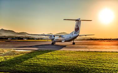 JA841C - JAL-  Japan Air Commuter de Havilland Canada DHC-8-400Q / Bombardier Q400