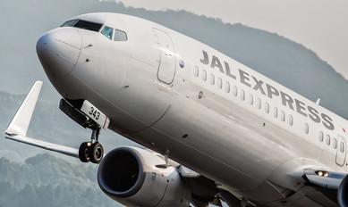 JA343J - JAL - Express Boeing 737-800