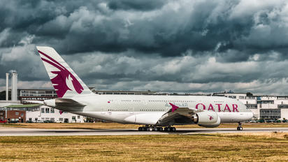 F-WWAL - Qatar Airways Airbus A380
