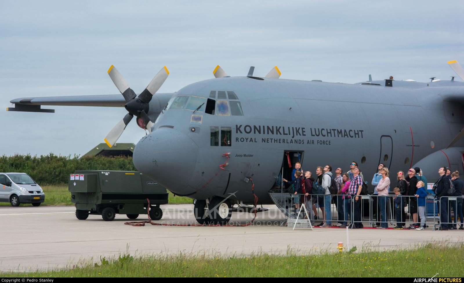 Netherlands - Air Force G-988 aircraft at Leeuwarden