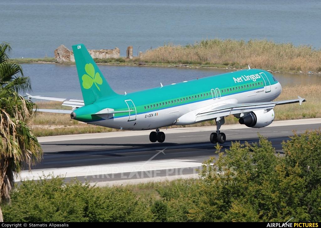 Aer Lingus EI-DEN aircraft at Corfu - Ioannis Kapodistrias