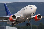 LN-RPS - SAS - Scandinavian Airlines Boeing 737-600 aircraft