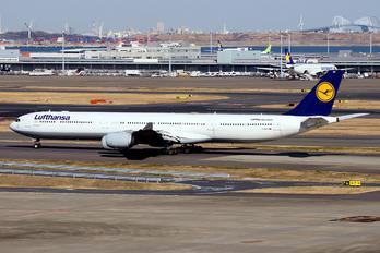 D-AIHV - Lufthansa Airbus A340-600