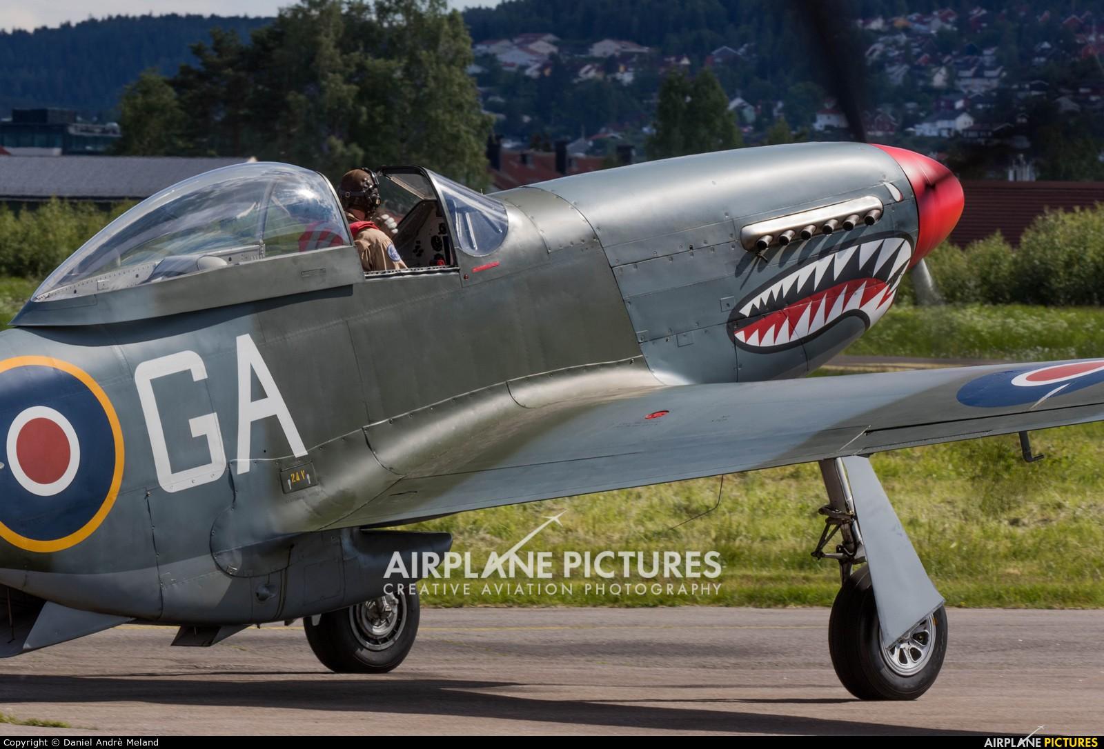 Private KH774 aircraft at Kjeller