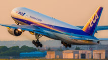 JA704A - ANA - All Nippon Airways Boeing 777-200 aircraft