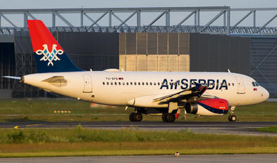 YU-APB - Air Serbia Airbus A319