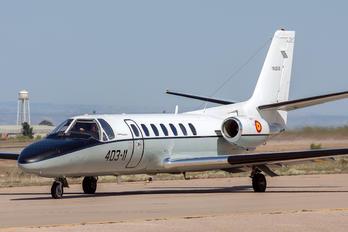 TR20-01 - Spain - Air Force Cessna 560 Citation V