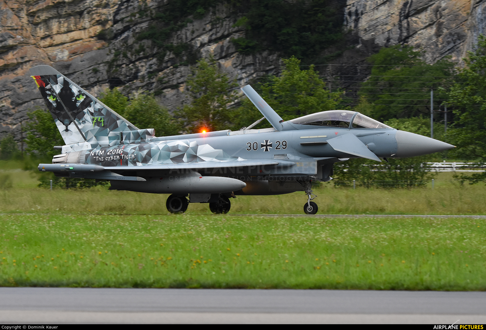 Germany - Air Force 30+29 aircraft at Meiringen